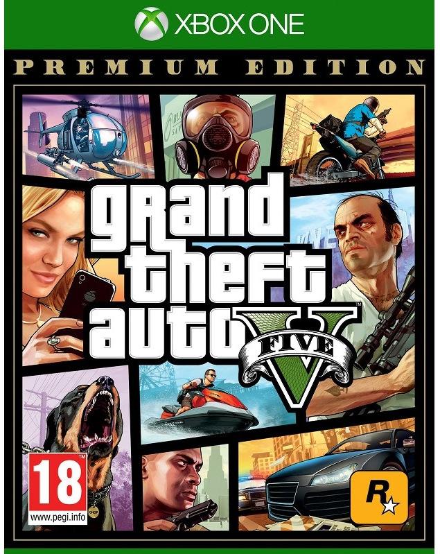 RockStar Xbox One Grand Theft Auto V, Premium Edition