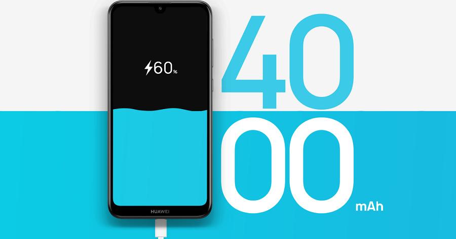 Smartphone Huawei Y7 2019 (4000mAh baterie)