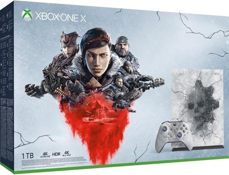Microsoft Xbox One X, 1 TB, Gears 5 Limited Edition