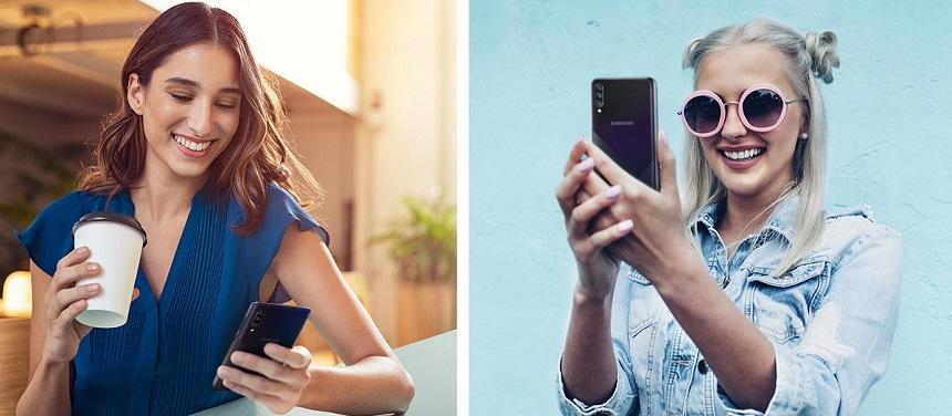 Samsung Galaxy A30s s technologiemi Bluetooth a NFC