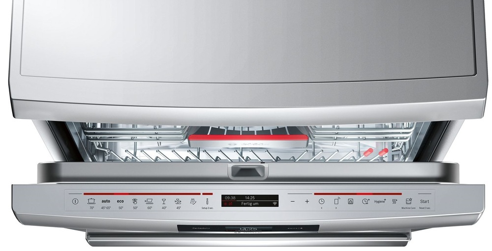 Bosch SMS88TI36E ovládací panel