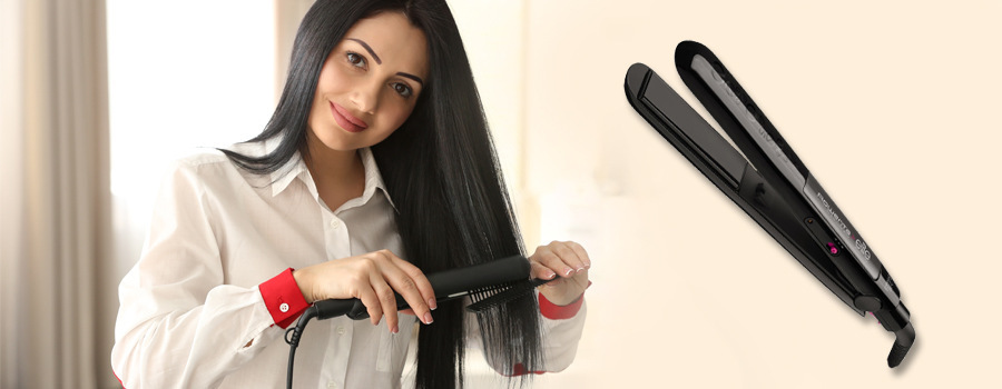 Žehlička na vlasy Rowenta New Compact Liss 230 Elite SF1012F0