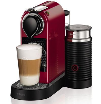 Nespresso Citiz&Milk, červená/černá
