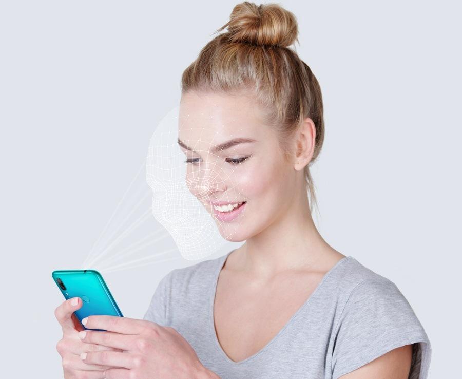 Smartphone Huawei Y7 2019 (rozpoznání tváře)
