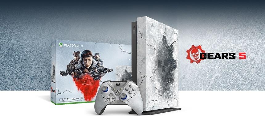 Xbox One X ovladač Gears