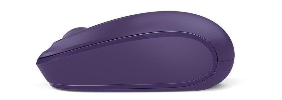 Microsoft Wireless Mobile Mouse 1850, fialová