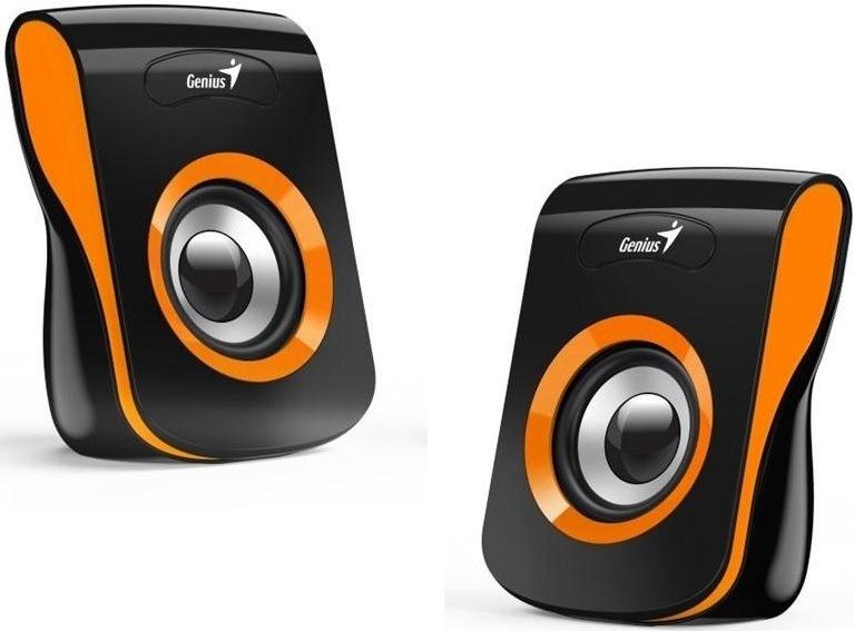 Genius SP-Q180, černá/oranžová