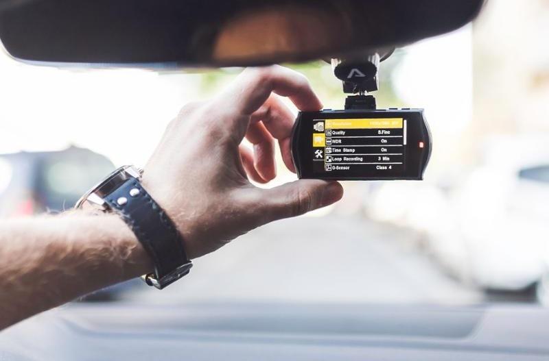 Kamera do auta LAMAX Drive C9, černá