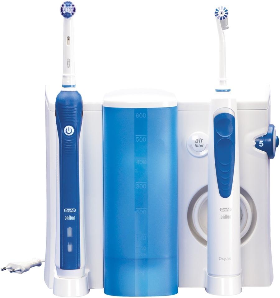 Oral-B OxyJet + Oral-B Professional Care 3000