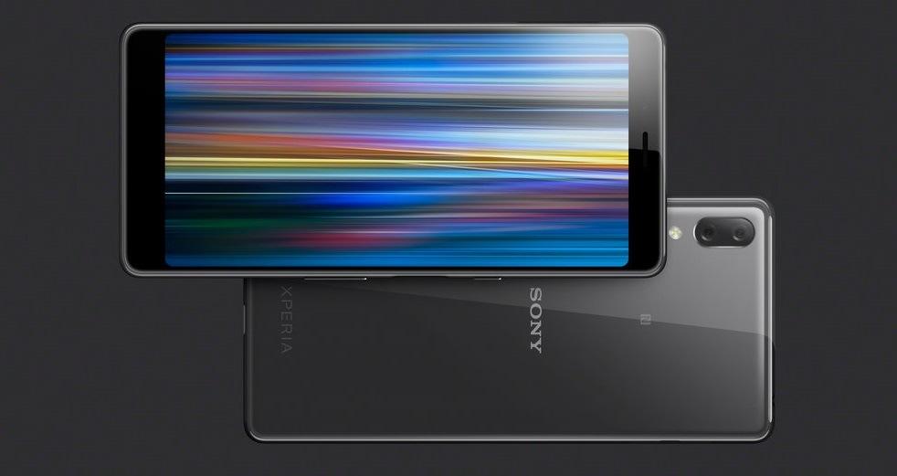 Sony Xperia L3 s funkcí dual SIM