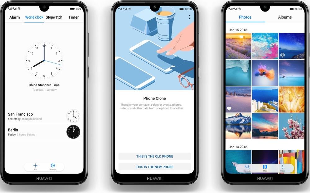 Smartphone Huawei Y7 2019 (Easy Mode)