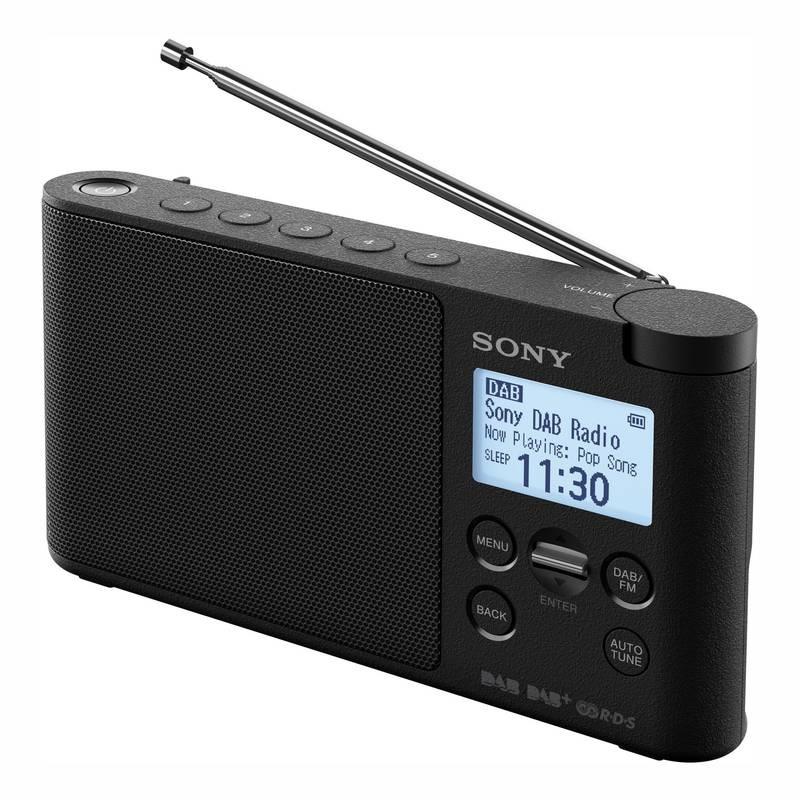 f57d71686 Rádioprijímač s DAB Sony XDR-S41DB čierny