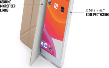 "Pipetto Origami pro Apple iPad 10,2"" (2019), zlatá"