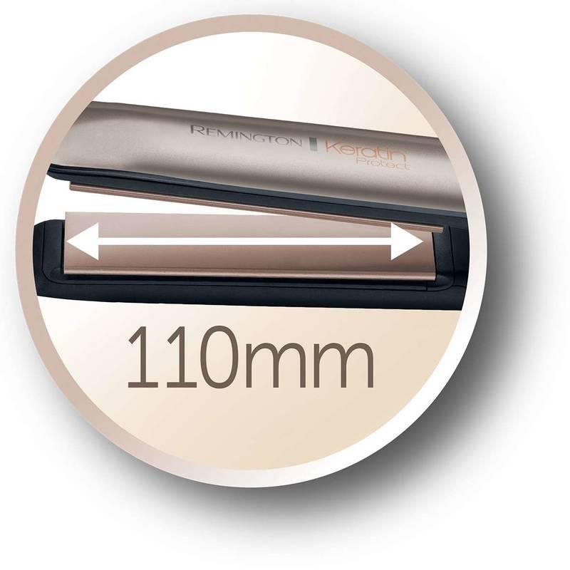 Žehlička na vlasy Remington Keratin Protect S8540 zlatá  2a71be1b327