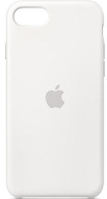 Apple Silicone Case pro iPhone SE (2020), bílá