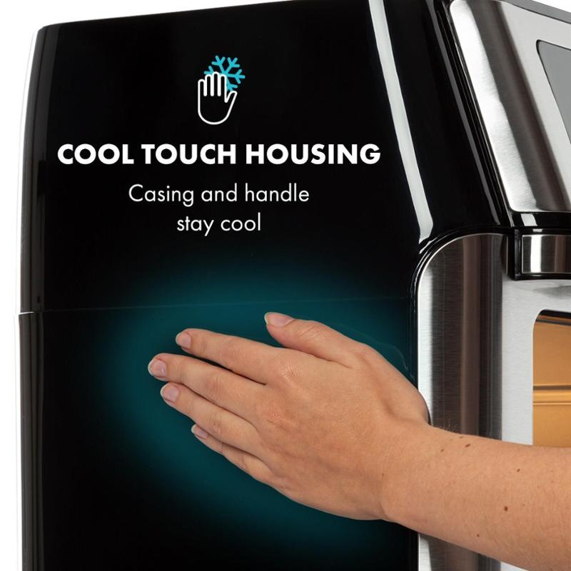 Cool touch housing