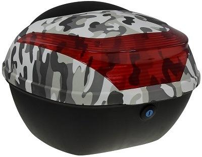 RACCEWAY zadní kufr k elektrickému motocyklu RACCEWAY E-BABETA, maskáč černá