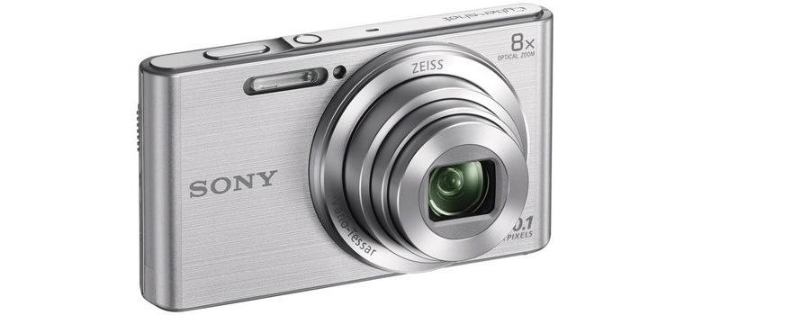 SONY DSC-W830, stříbrná