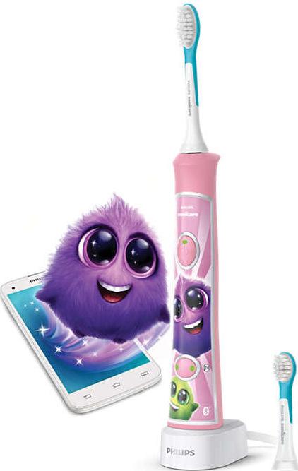 Philips Sonicare For Kids HX6352/42, růžová