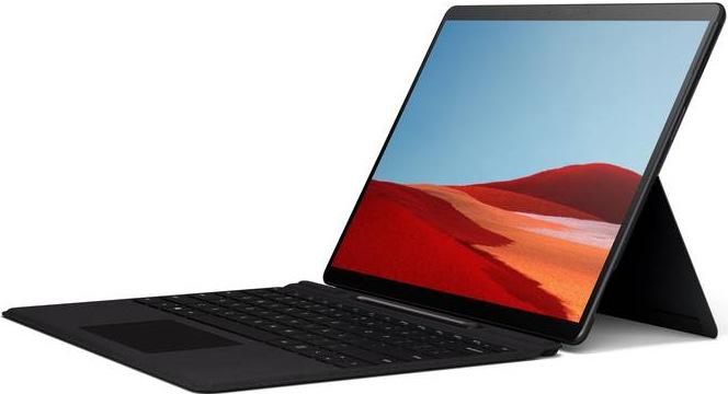 Pouzdro na tablet s klávesnicí pro Microsoft Surface Pro X + Pen bundle, US Layout, černá