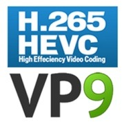 Podpora kodeku H.265/HEVC