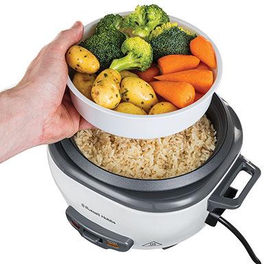 Pro přípravu až 3 porcí rýže