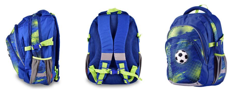 16e0acd543 Polstrování batohu je vyrobeno z prodyšného materiálu. Ramenní popruhy lze  nastavit dle výšky dítěte a správnou fixaci batohu na zádech a optimální ...