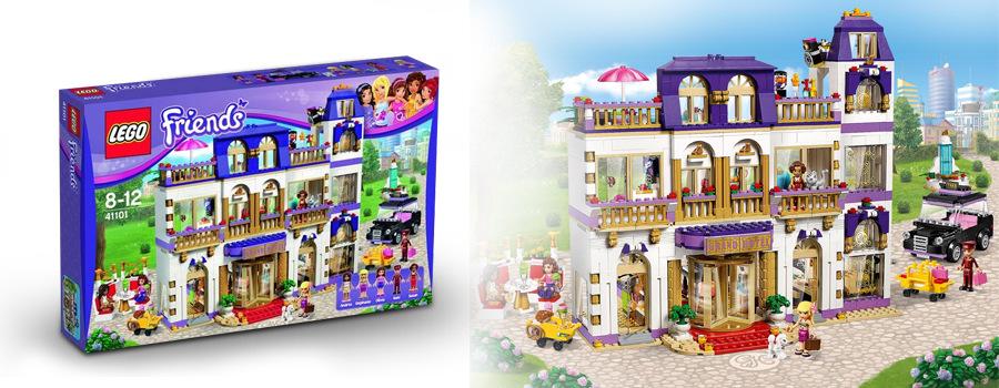 Prožijte společně s vaší dcerou a oblíbenými minifigurkami nezapomenutelnou  dovolenou v kouzelném hotelu Grand v městečku Heartlake. 972e7ecbbb7