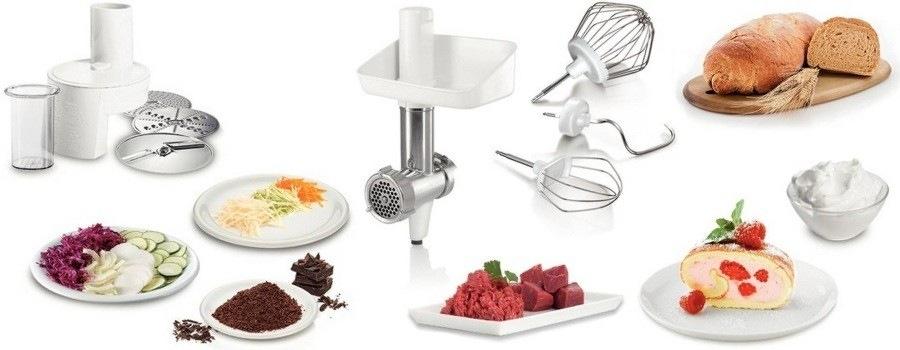 Kuchyňský robot Bosch MUM4406 - příslušenství