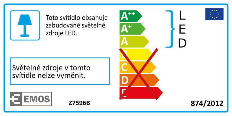 Stolní LED lampička EMOS DEL-1211 stmívatelná, 3W