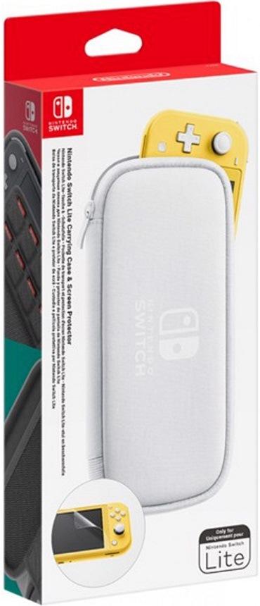 Carry Case for Nintendo Switch Lite, bílá