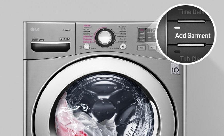 LG F171P1CY2W Přidat prádlo