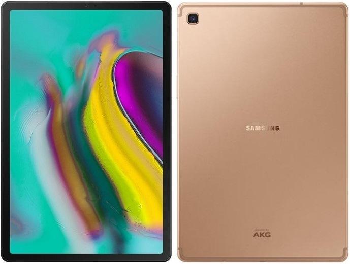"""Samsung Galaxy Tab S5e LTE 10.5"""", zlatá"""