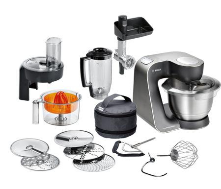 Bosch MUM57860, stříbrná