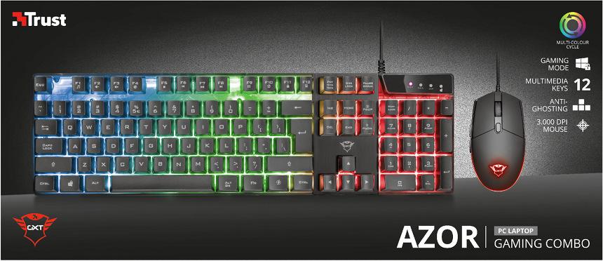 Trust GXT 838 Azor Gaming Combo