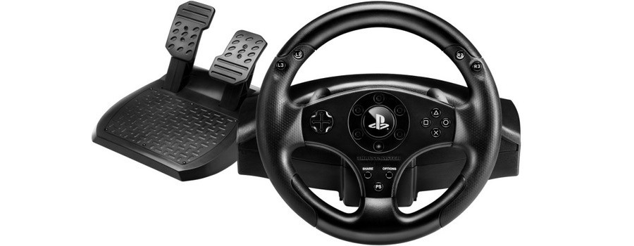 THRUSTMASTER Racing Wheel T80 (PS3/PS4)