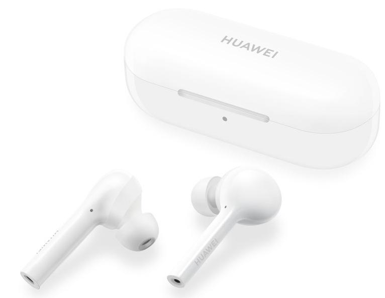 Huawei FreeBuds Lite, bílá