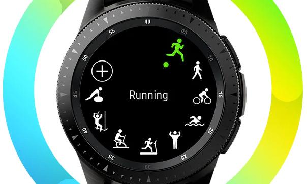 Samsung Galaxy Watch 46mm LTE (SM-R805FZSATMZ), stříbrná