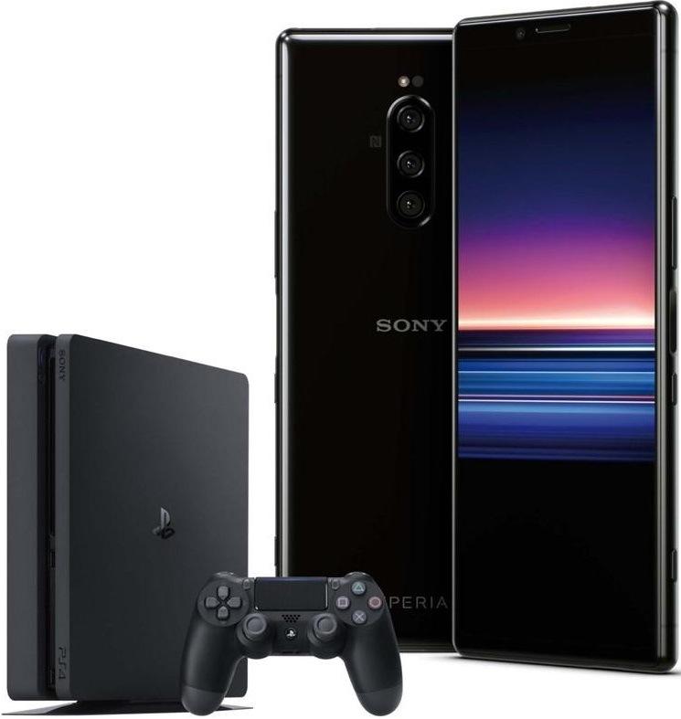 Sony Xperia 1, černá + Sony PlayStation 4 Fortnite, černá