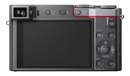 Panasonic DMC-TZ100EPS, šedá