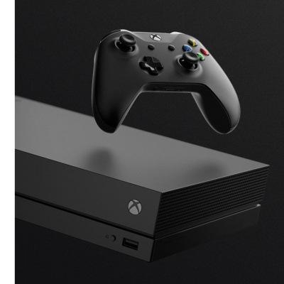 Xbox One X, černá