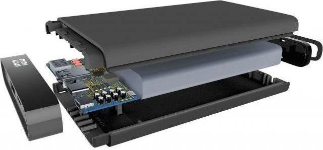 Powerbanka CellularLine Freepower Manta S, 5000mAh, USB-C, černá