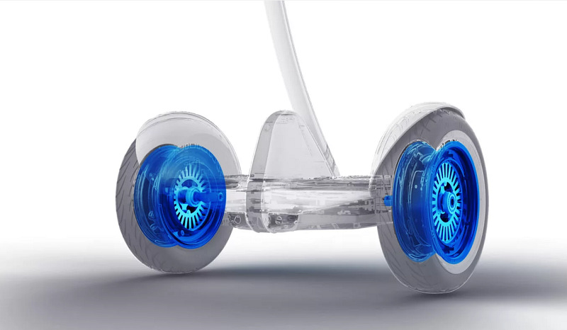 Ninebot X rychlost a kapacita