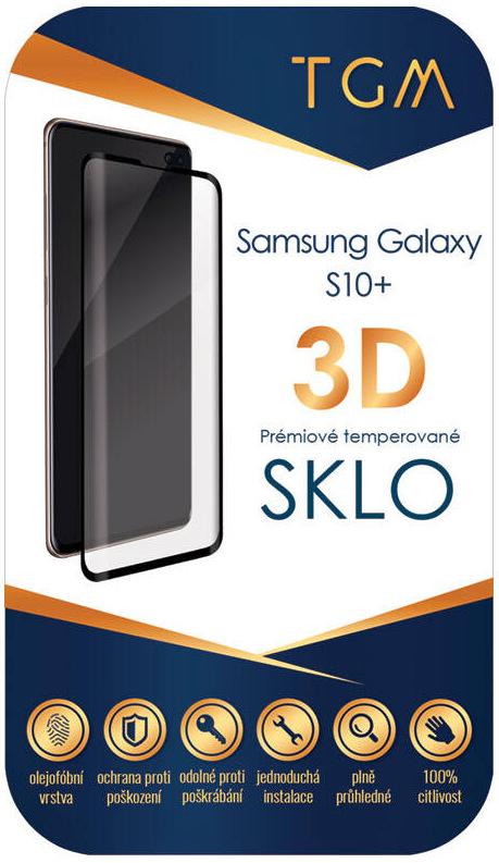 TGM 3D pro Samsung Galaxy S10+, černá