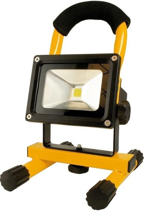 Arcas Flood Light LED, 10 W, žlutá