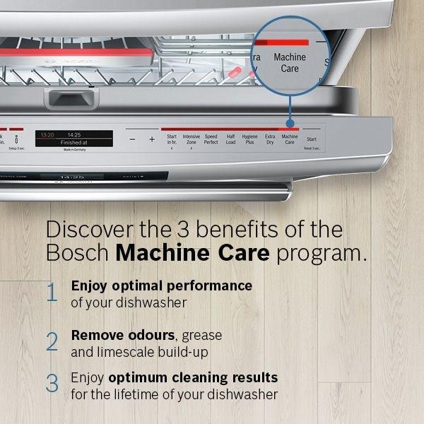 Bosch SMS88TI36E program péče o myčku