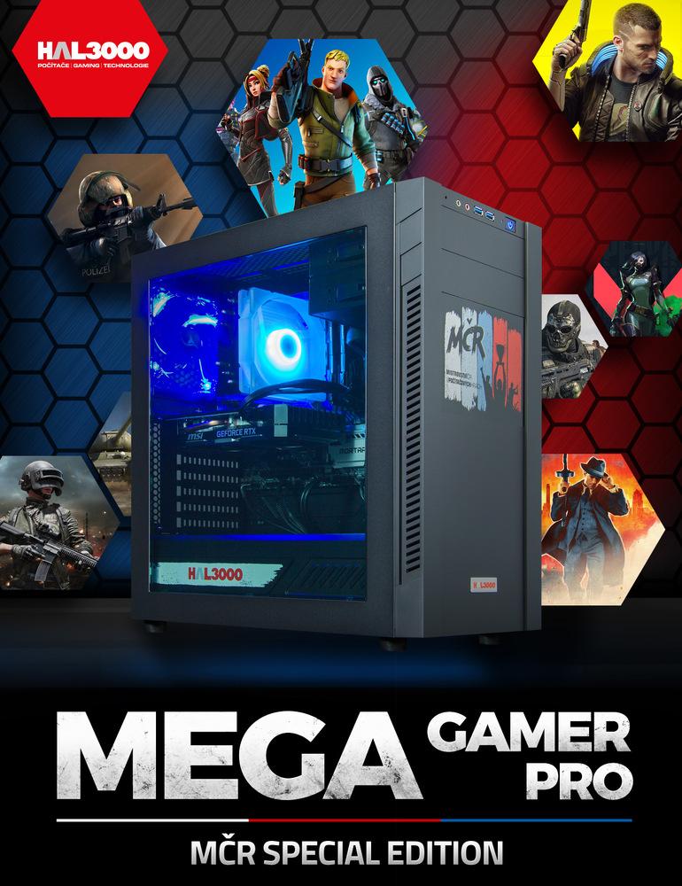 HAL3000 MEGA Gamer MČR Pro
