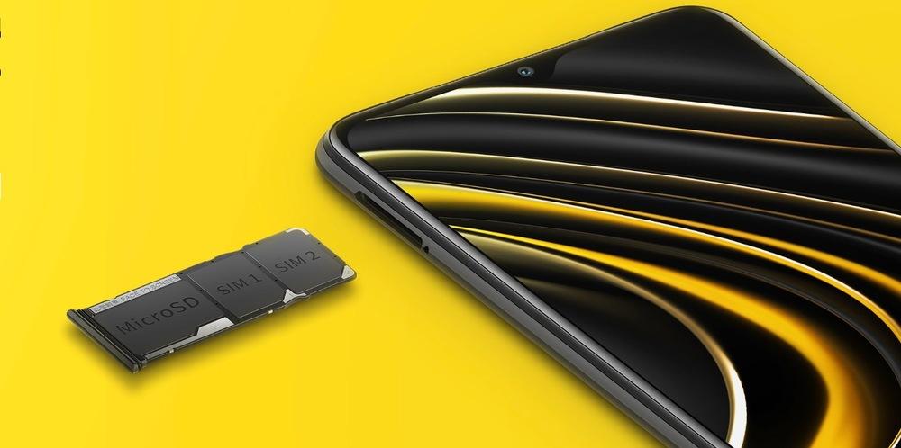 Chytrý mobilní telefon Xiaomi Poco M3