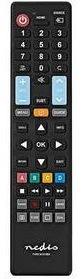Dálkový ovladač Nedis 5v1 pro TV Samsung, LG, Sony, Philips, Panasonic (TVRC4151BK)
