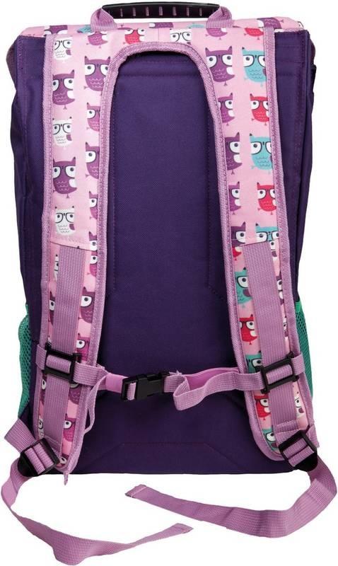 Navíc dítko může batoh zvedat a přenášet pomocí pevného ručního madla  umístěného navrchu. Prázdný batoh váží 1 32f4e7e843